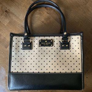 Polka Dot Canvas Kate Spade Bag